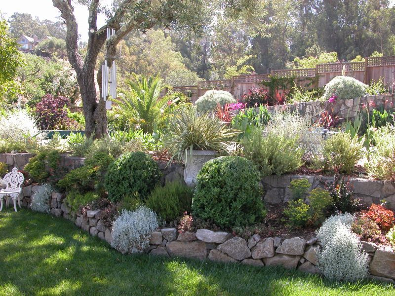 Landscape Ideas For Backyard Hills