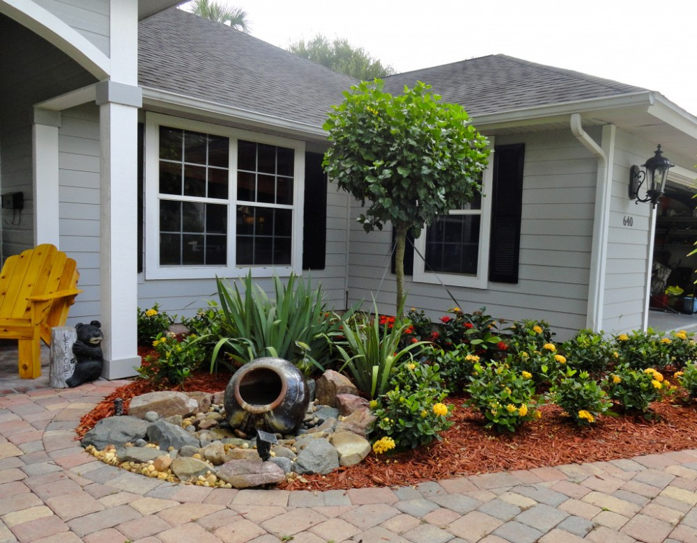 Landscape Ideas For Front Yard No Grass