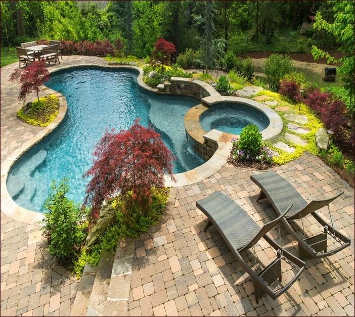 Landscape Lighting Ideas Around Pool