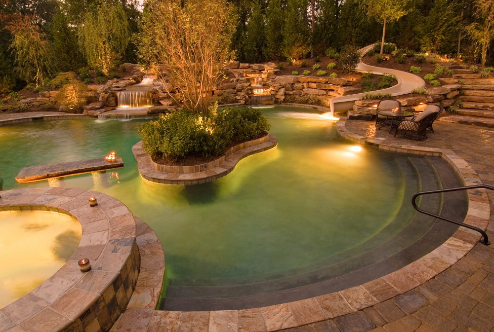 Landscape Lighting Ideas For Pools