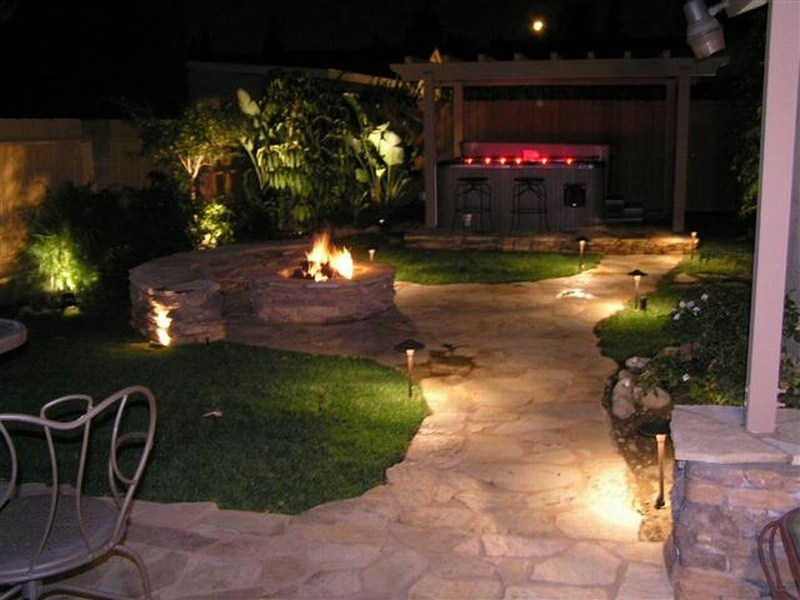 Landscape Lighting Ideas Walkways
