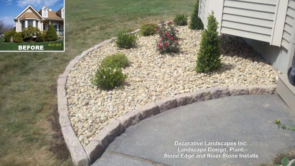 Landscaping Edging Ideas With Stone