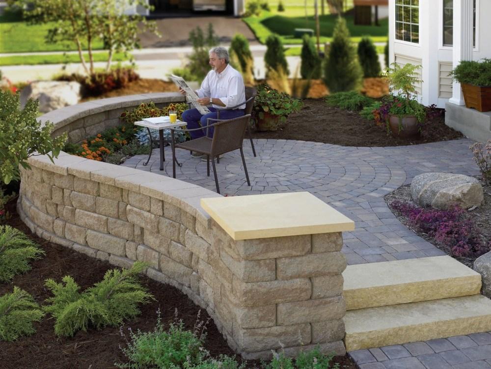 Landscaping Ideas Around Brick Patio