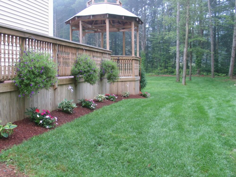 Landscaping Ideas Around Deck Patio