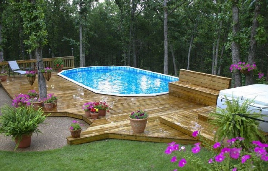 Landscaping Ideas Around Pool Pictures