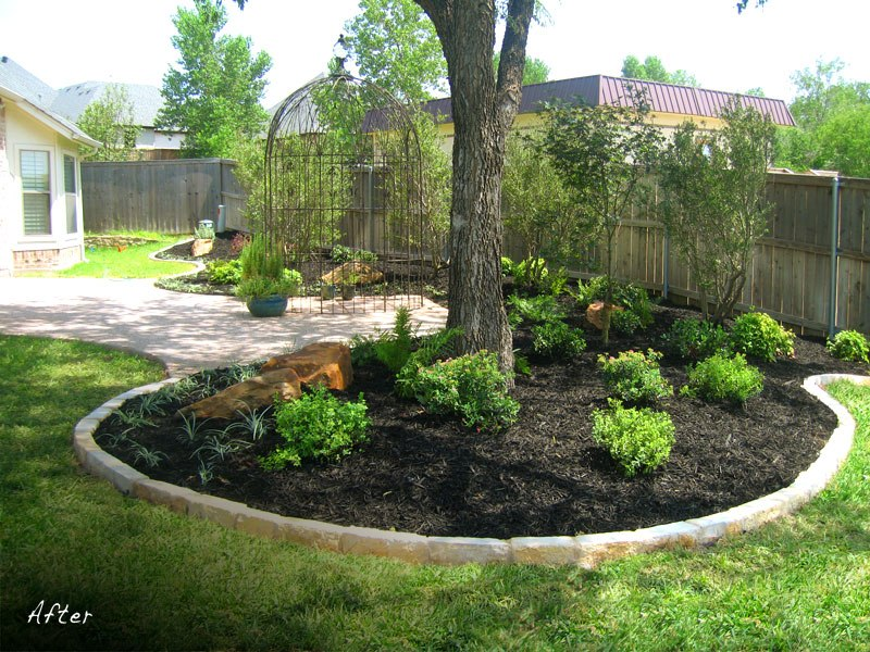 Landscaping Ideas Around Tree Trunks