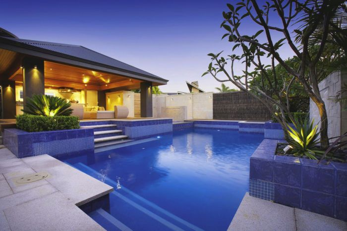 Landscaping Ideas Backyard With Pool