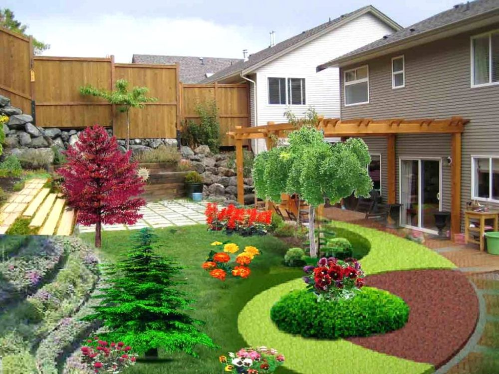 Landscaping Ideas For Backyards With Slopes