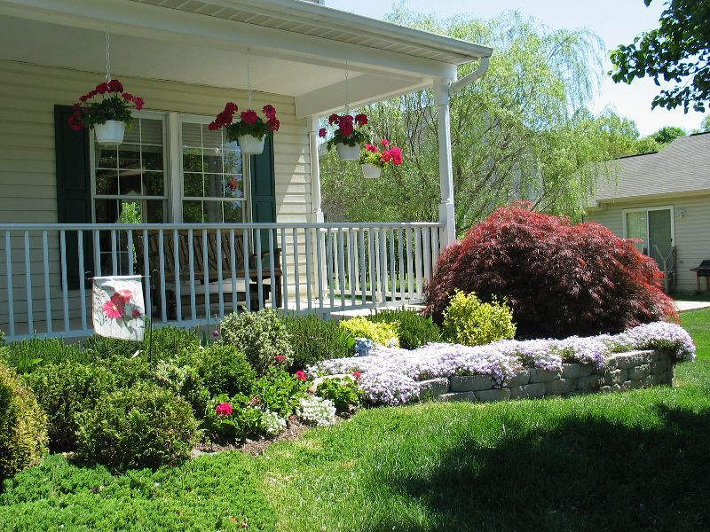 Landscaping Ideas For Front Of Ranch Style House
