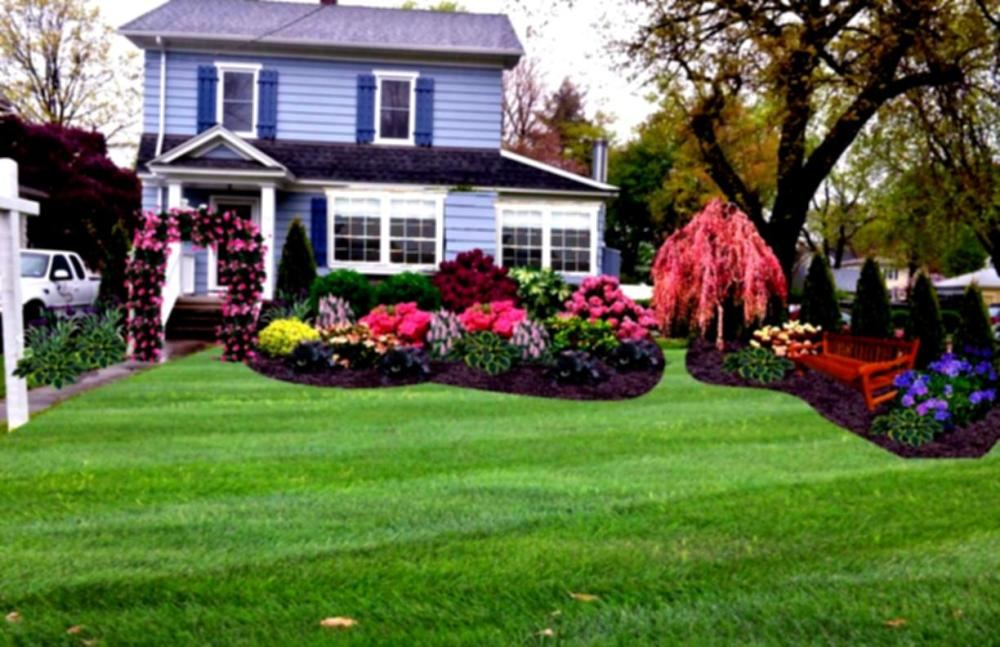 Landscaping Ideas For Front Yard Flower Beds