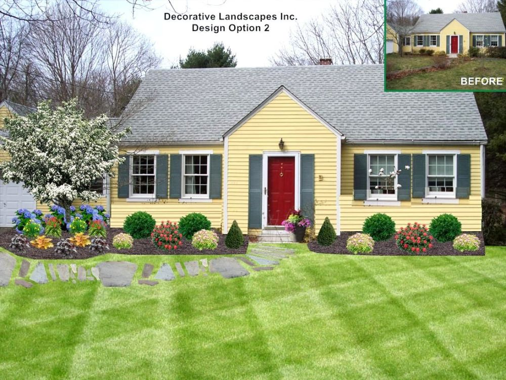 Landscaping Ideas For Front Yard Full Sun