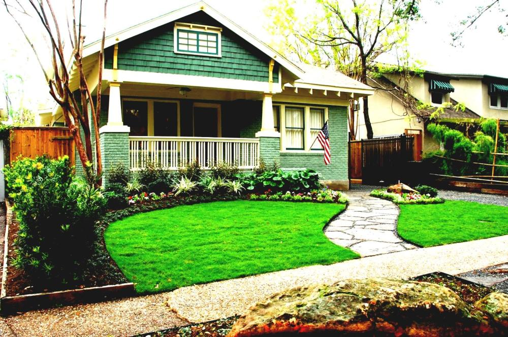 Landscaping Ideas For Front Yard With Porch