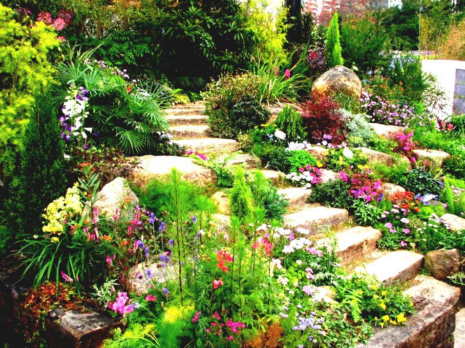 Landscaping Ideas For Slopes Pictures