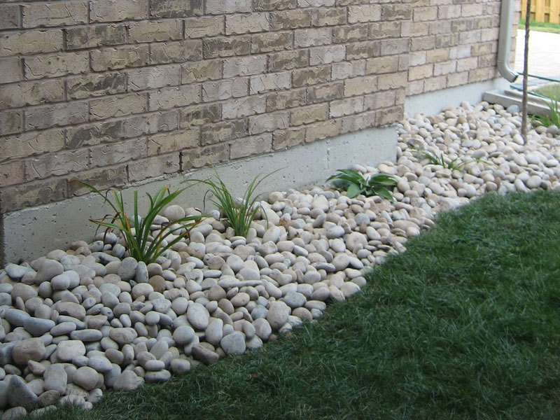 Landscaping Ideas Rock Beds