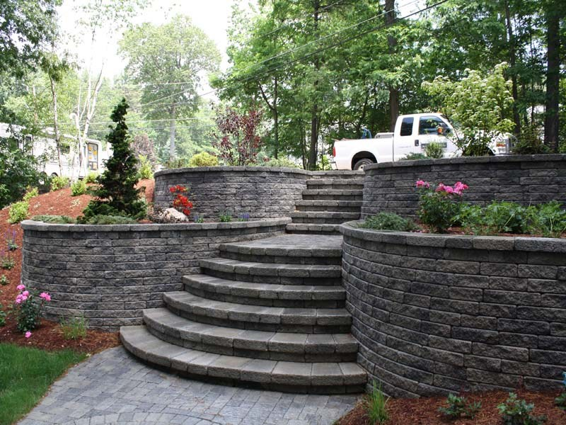 Landscaping Ideas Rock Retaining Wall