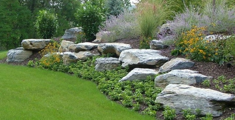 Landscaping Ideas With Rocks Boulders