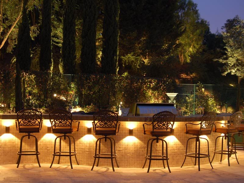 Landscaping Lighting Ideas Backyard