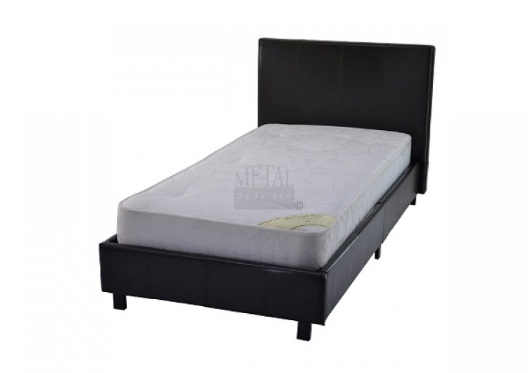 Leather Bed Frame Single