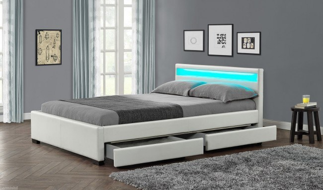 Led Double Bed Frame