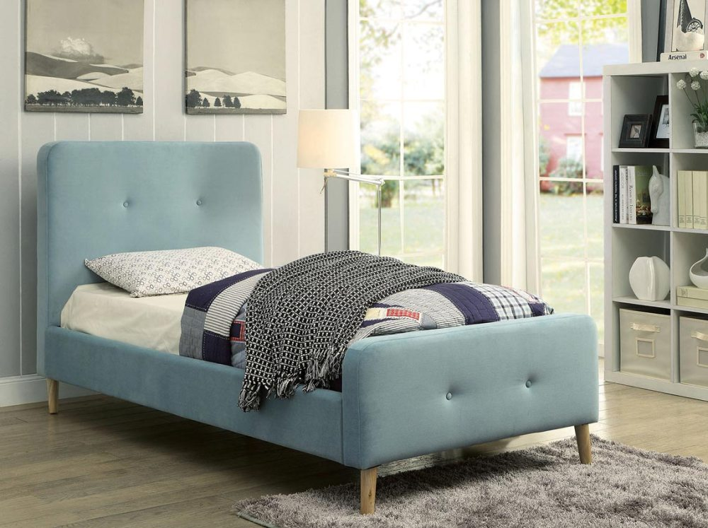 Light Blue Bed Frame