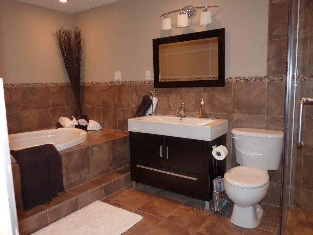 Light Brown Bathroom Ideas