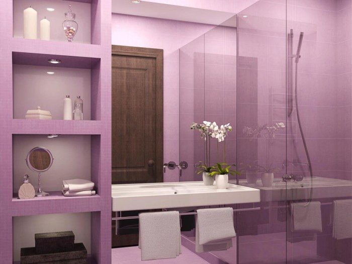 Light Purple Bathroom Ideas
