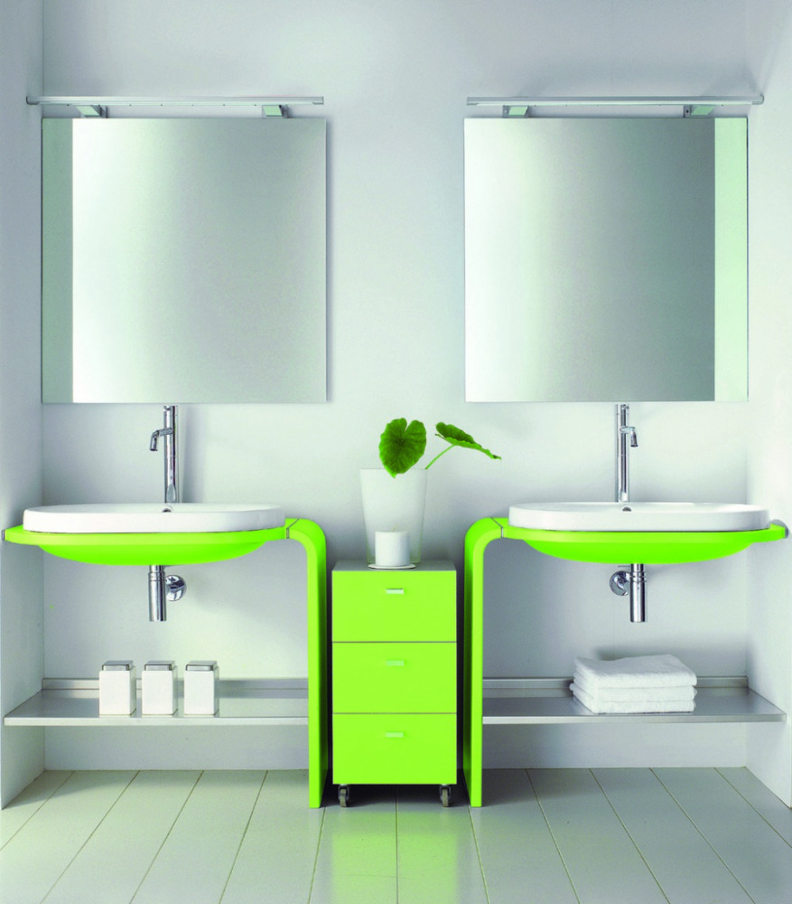Lime Green Bathroom Ideas