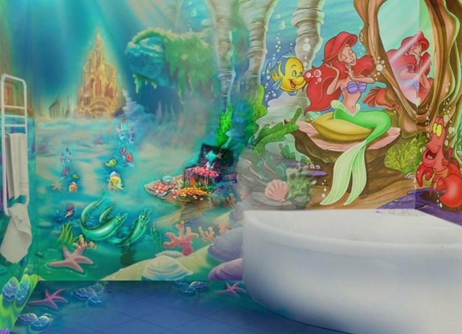 Little Mermaid Bathroom Ideas