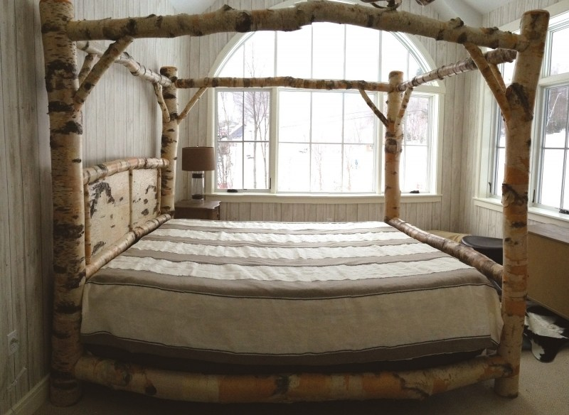 Log Bed Frame Designs