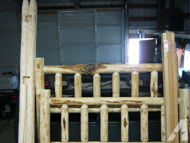Log Bed Frame For Sale