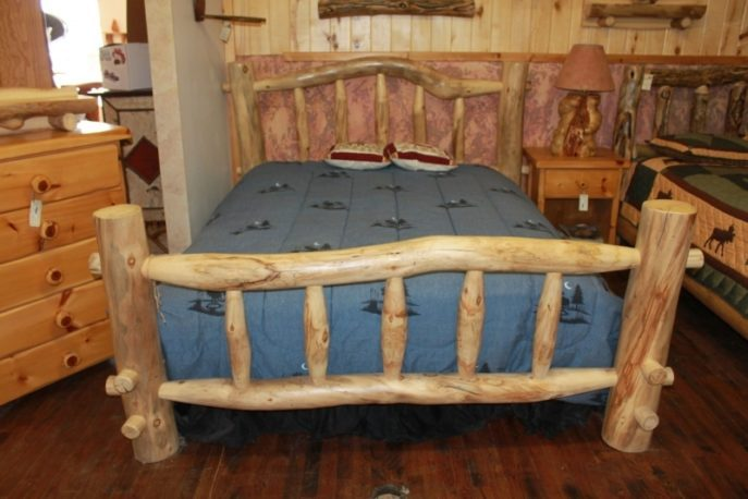Log Bed Frame Kits
