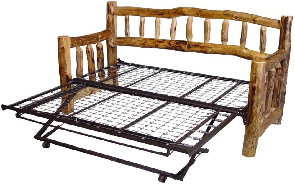Log Bed Frame Plans