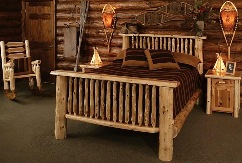 Log Bed Frames Plans