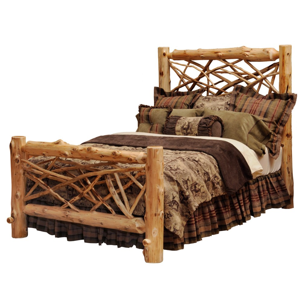 Log Bed Frames