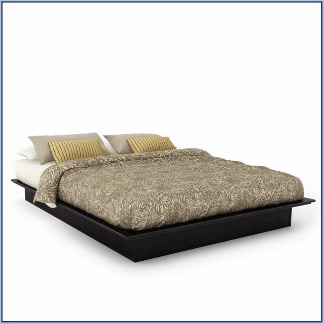 Low Metal Bed Frame Queen