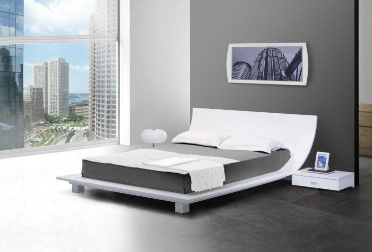 Low Platform Bed Frame Design