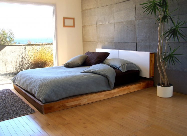 Low Platform Bed Frame