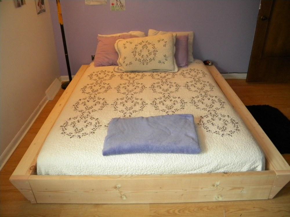 Low Profile Bed Frame Diy