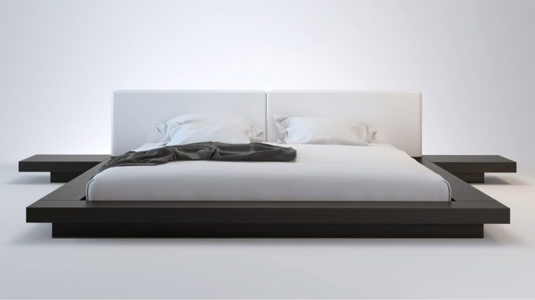 Low Profile King Platform Bed Frame