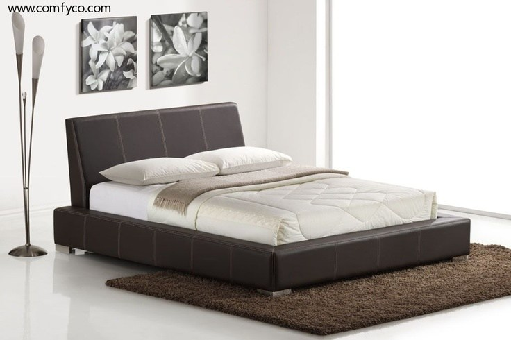 Low Profile Platform Bed Frame King