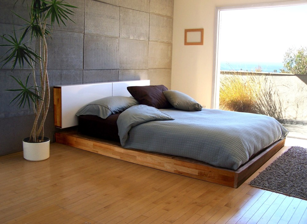 Low Queen Bed Frame