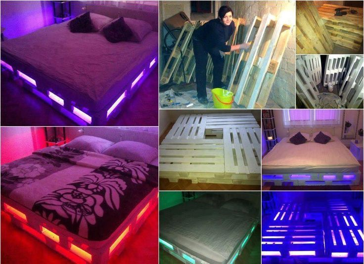 Make Your Own Bed Frame Pinterest