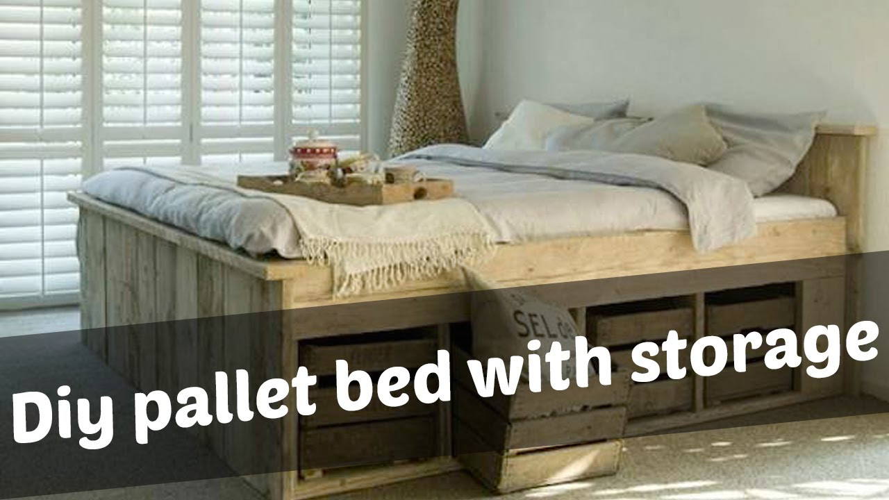 Make Your Own Bed Frame With Drawers
