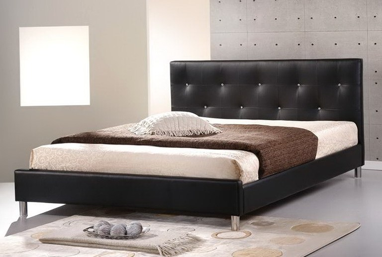 Malm Bed Frame Low Black Brown Black Brown