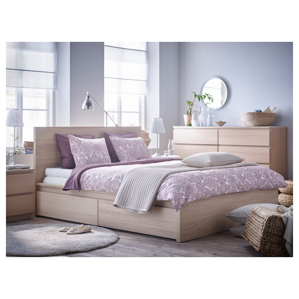 Malm High Bed Frame Queen