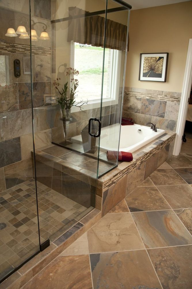 Master Bath Tile Shower Ideas