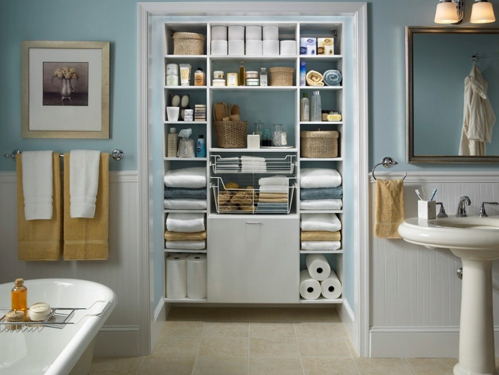 Master Bathroom Organizing Ideas