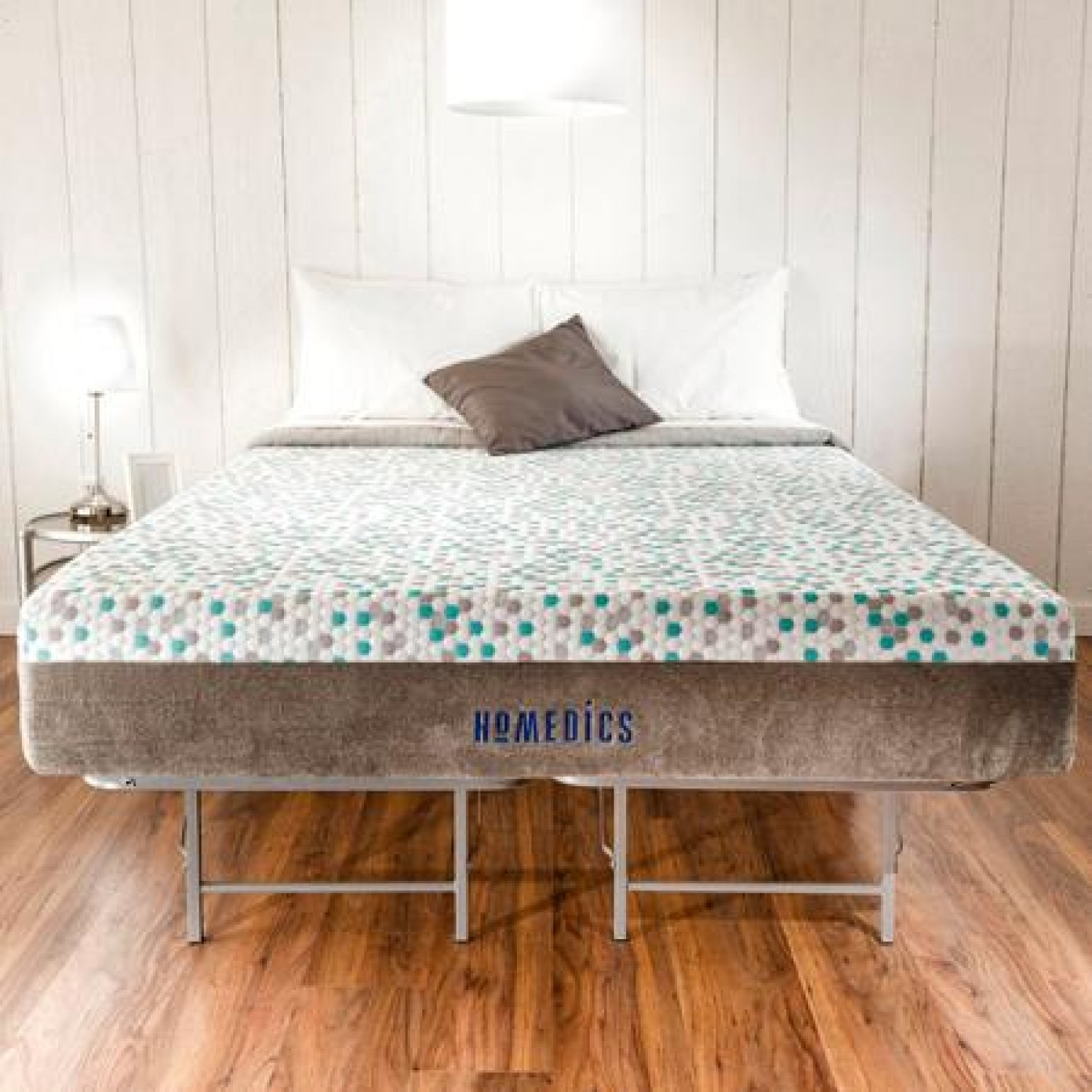 Memory Foam Mattress And Bed Frame Set