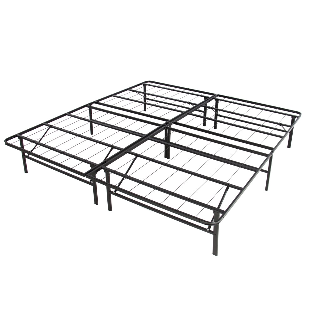Metal Bed Frame King No Box Spring