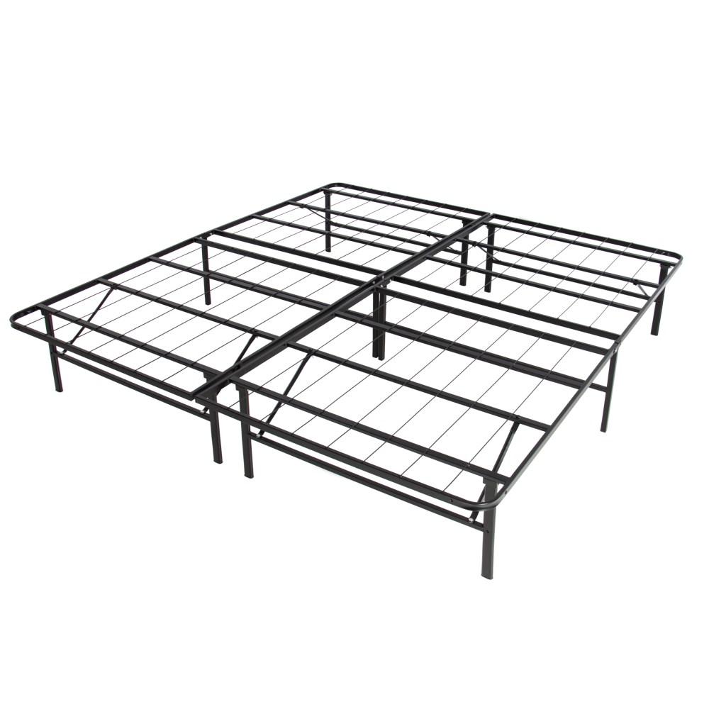 Metal Bed Frame King No Box Spring